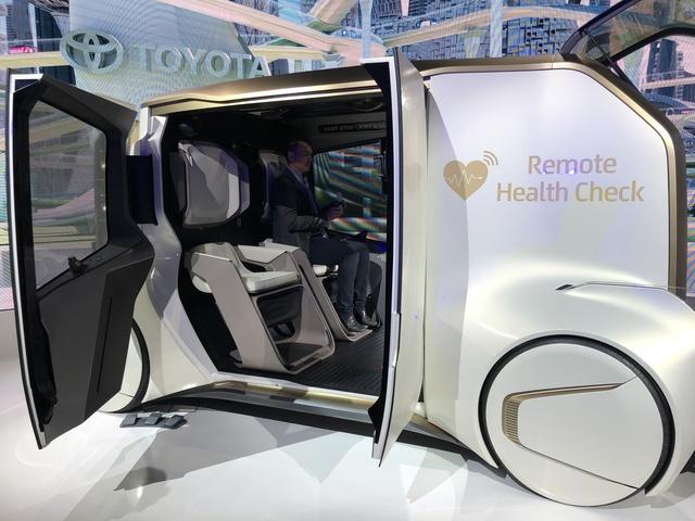 Tokyo Motor Show: Die Trends  - Vom Medizin-Mobil bis zum rollenden Wickeltisch