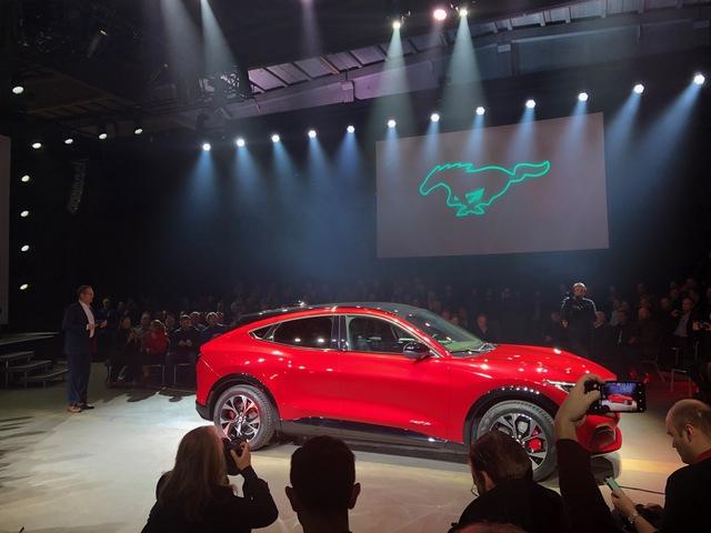 Elektrischer Ford Mustang Mach-E kommt auch nach Europa - Der heißeste Tesla-Jäger