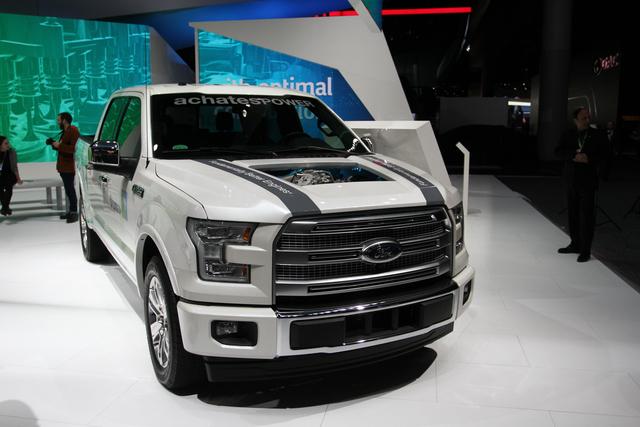 Gegenkolbenmotor im Ford F-150  - Rettung für den Diesel?