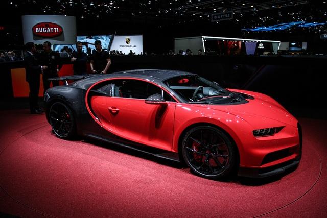 Bugatti Divo - Supersport-Version des Supersportlers
