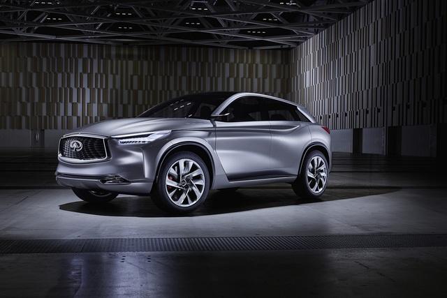 Infiniti QX Sport Inspiration - Ausblick auf das neue Mittelklasse-SUV