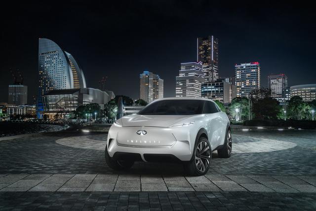 Infiniti QX Inspiration Concept - Wohnliche Elektro-Zukunft