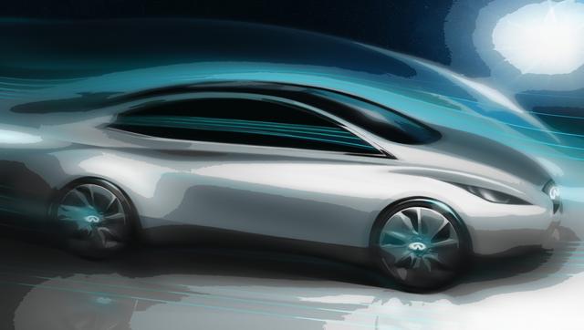 Infiniti-Elektroauto - Luxus-Japaner unter Strom