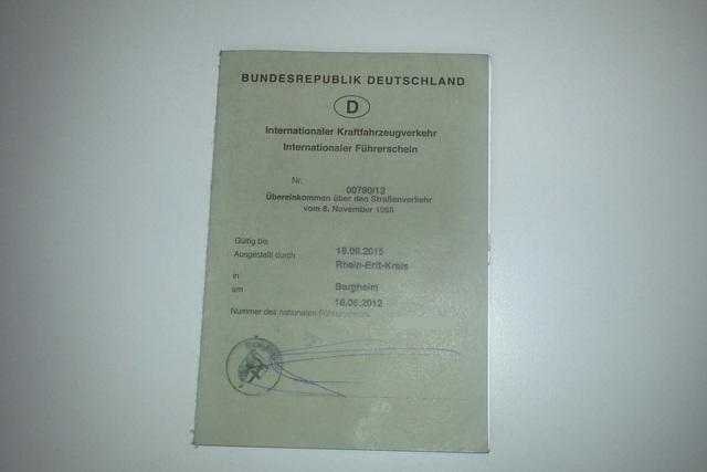 Ratgeber: Internationaler Führerschein - Auch in den USA sollte man ihn haben
