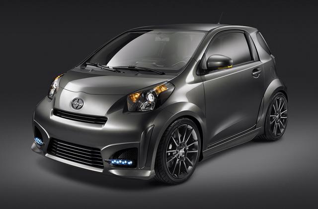Toyota iQ kommt in den USA als Scion