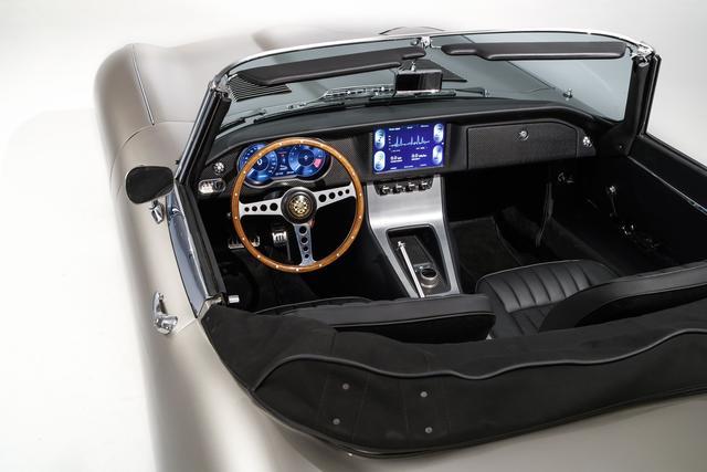 Bilder Klassiker Wird Zum Saubermann Jaguar E Type Als E Auto