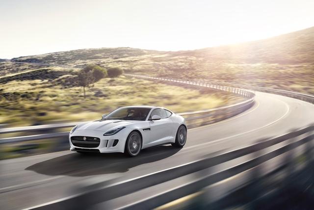 Jaguar F-Type Coupe - Festes Dach und starker Motor