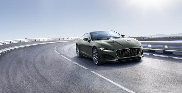 Jaguar F-Type Heritage 60 Edition - Farblich ein E-Type
