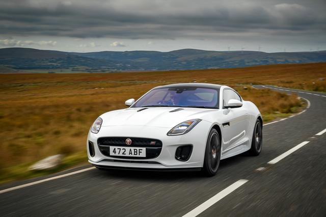 Jaguar F-Type - Schicker ans Ziel