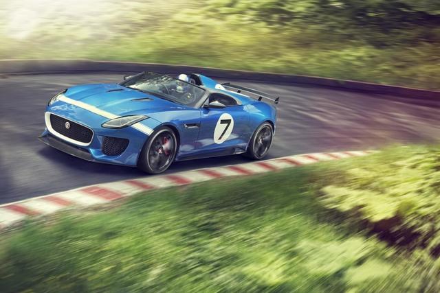 Jaguar Project 7 - Der F-Type für die Rennstrecke