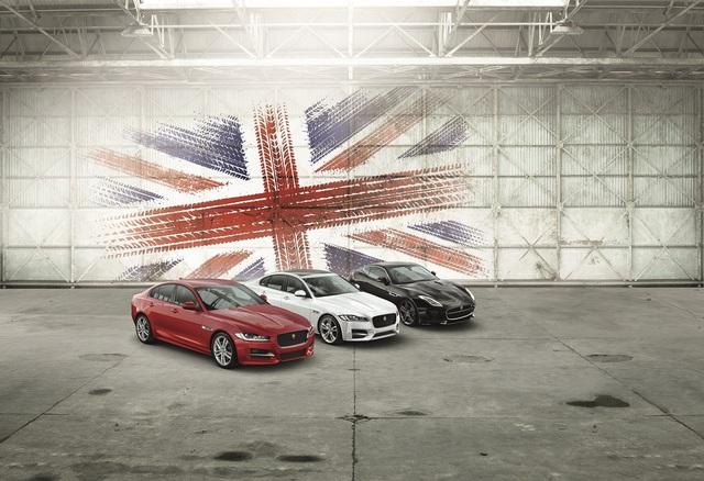 Sonderedition von Jaguar XE und XF  - Very British