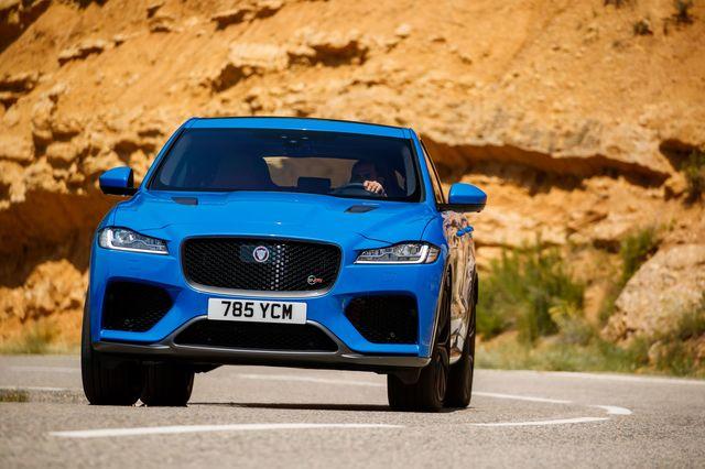 Fahrbericht: Jaguar F-Pace SVR - Ein straffes Statement