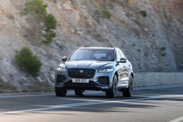 Jaguar F-Pace Facelift - Mehr E für den F