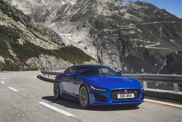Modellpflege Jaguar F-Type - Optisch mehr Drama