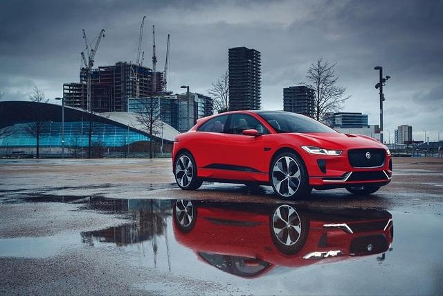 Elektroauto Jaguar I-Pace  - Rotes Revival