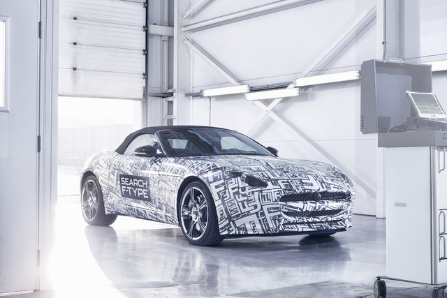 Jaguar F-Type - Roadster auch mit vier Zylindern