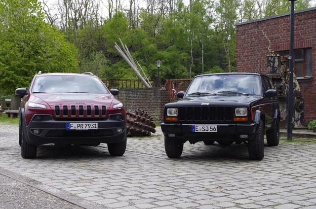 Alt oder neu: Jeep Cherokee 4,0 und Cherokee Trailhawk 3,2 - Klettern können sie