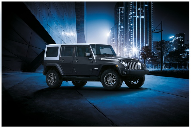 Jeep Wrangler JK Edition - Opulenter Abgang
