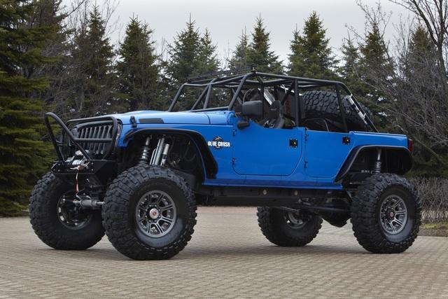 Getunte Jeeps - Querfeldein auf Riesenreifen