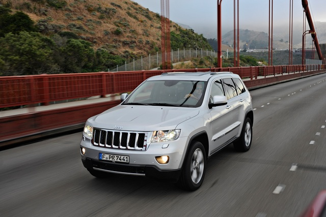 Jeep Grand Cherokee 3.0 CRD und Compass - And the Jeep goes on (Vorabbericht)