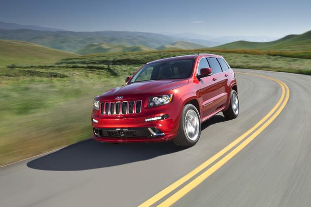Jeep Grand Cherokee SRT8 - Rennstrecke statt Schlammpiste (Vorabbericht)