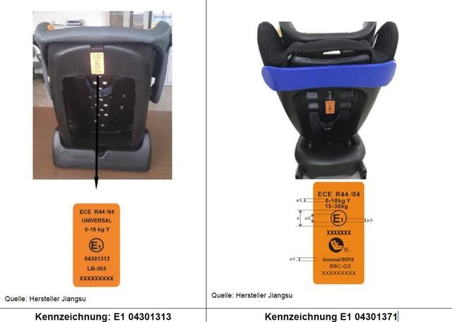 Kindersitz-Rückruf - Erhöhte Verletzungsgefahr für den Nachwuchs