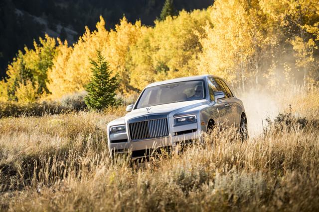 Fahrbericht: Rolls-Royce Cullinan - Krösus fürs Grobe