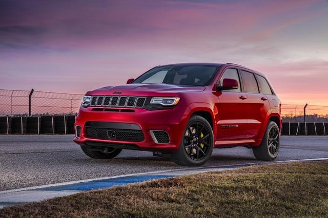 Jeep Grand Cherokee Trackhawk - SUV-Superlative