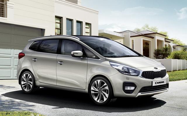 Kia Carens Facelift - Maßvoll modernisiert
