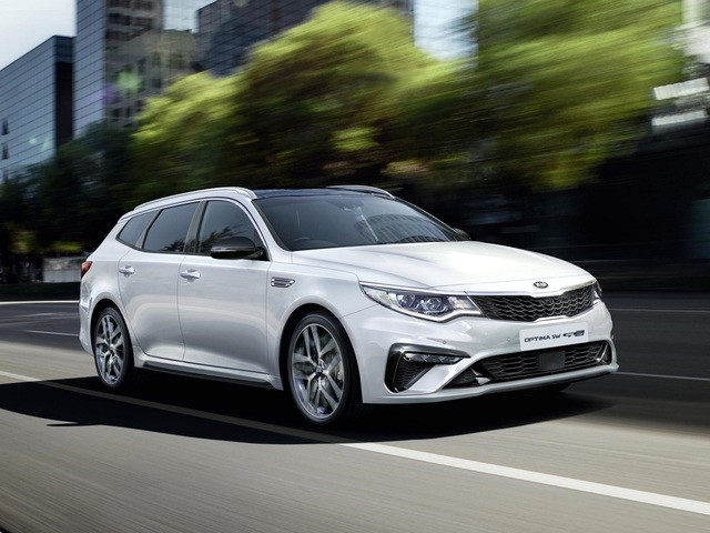 Kia Optima Sportswagon  - Mit neuen Motoren ins nächste Modelljahr