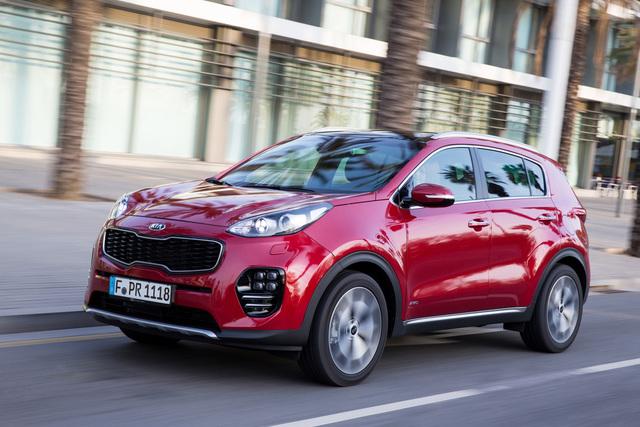 Kia Sportage - Top-Benziner auch ohne Allradantrieb