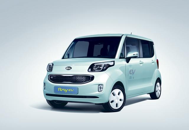 Kia Ray EV - Koreas erstes Elektroauto