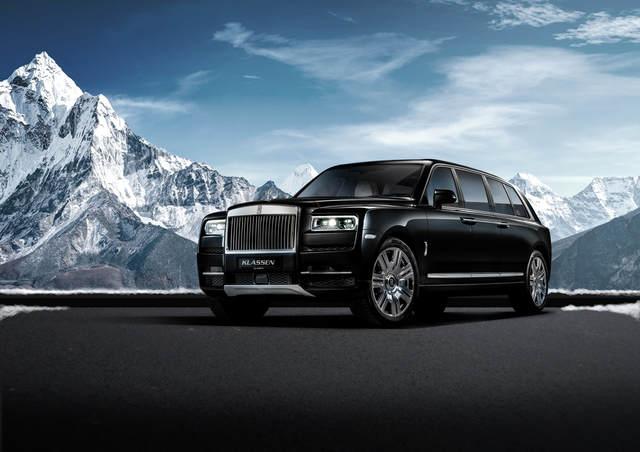 Rolls-Royce Cullinan geht in die Verlängerung - Standhafte Staatskarosse