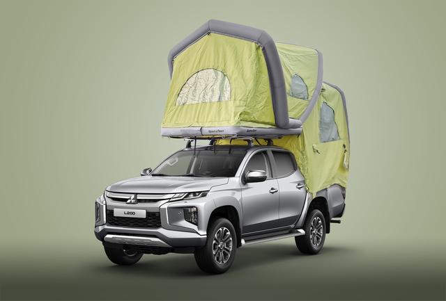 Mitsubishi L200 - Zelten auf dem Pick-up