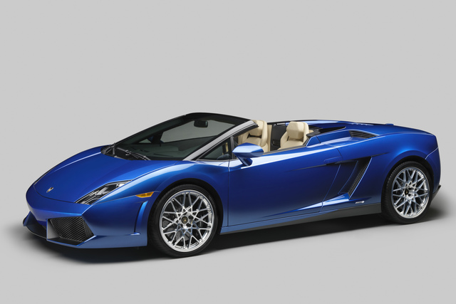 Lamborghini Gallardo LP 550-2 Spyder - Keine halbe Portion