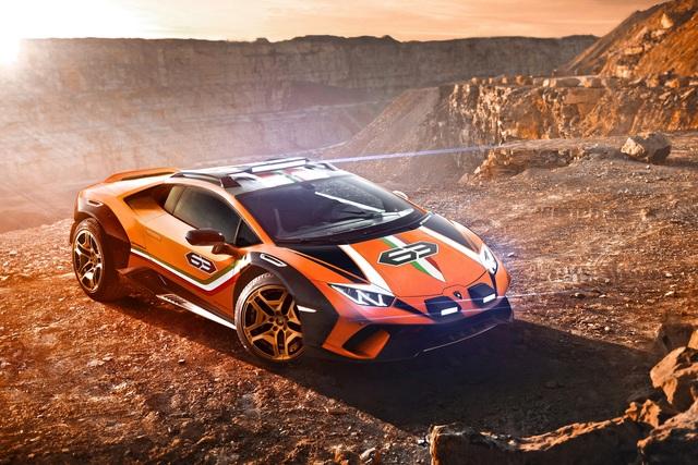 Lamborghini Huracan Sterrato Concept - Der Flachmann fürs Grobe