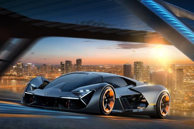 Lamborghini Terzo Millennio - Selbstheilender Elektrorenner