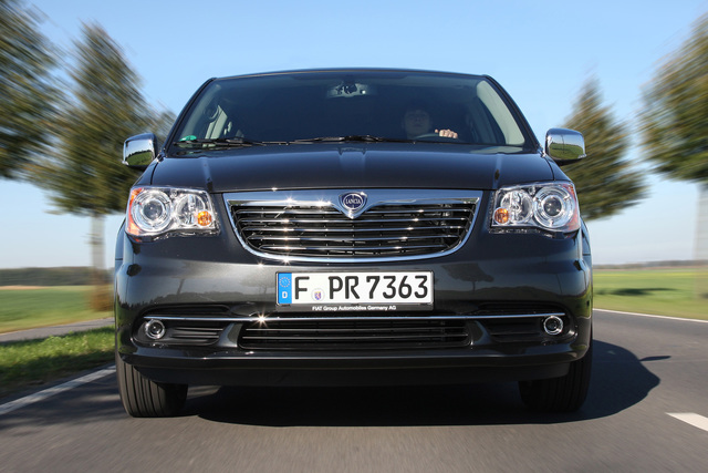 Lancia Voyager - Neue Edelmetall-Editionen