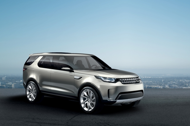 Land Rover Discovery Vision Concept - Disco mit Laser