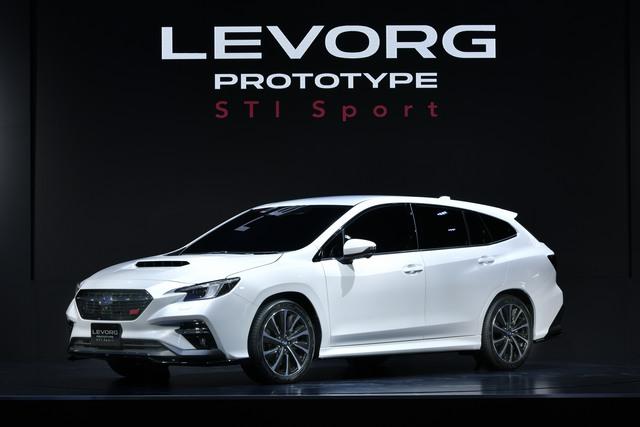 Subaru Levorg - Premiere in Tokio