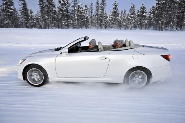 Cabriofahren - Offener Spaß auch im Schnee