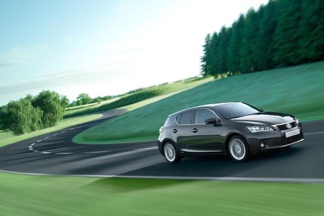 Lexus CT 200h - Mit Hybrid-Power gegen die Platzhirsche (Kurzfassung)