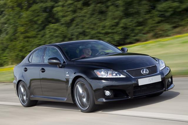 Lexus IS-F: Mehr Charakter für den Kraftmeier