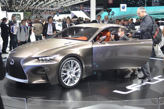 Lexus-Konzeptstudie LF-CC - Der kommende IS lässt grüßen