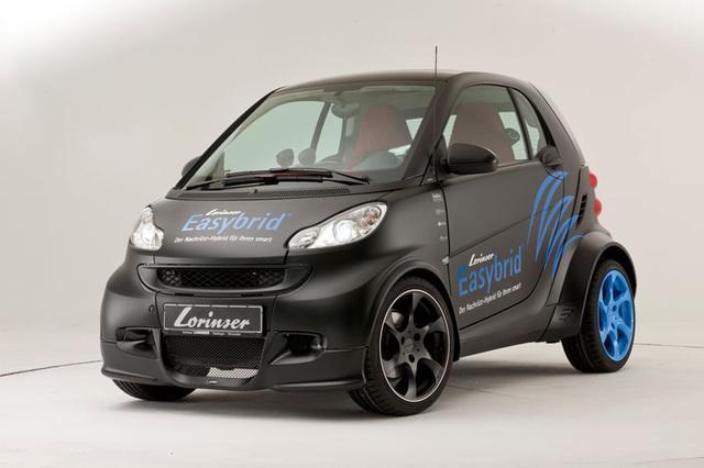 Lorinser Smart - E-Motoren zum Nachrüsten