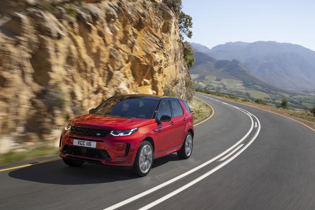 """Land Rover Discovery Sport - Als Mildhybrid und mit """"durchsichtiger"""" Motorhaube"""