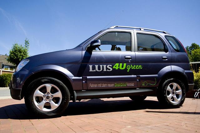 Luis 4U green: Chinesisch-deutsches Elektro-SUV