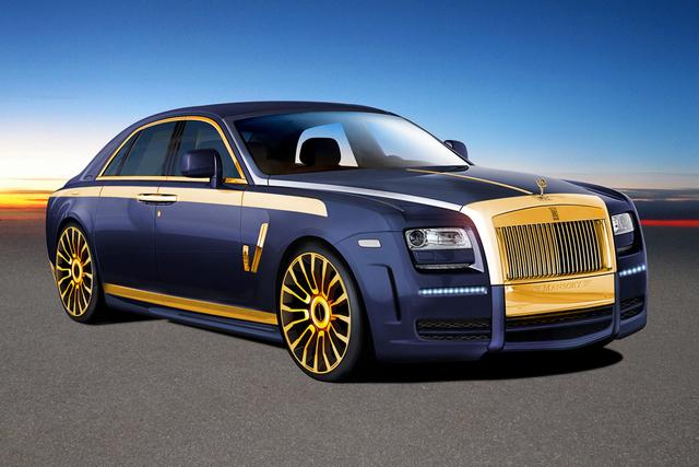 Mansory Rolls Royce Ghost: Einfach goldig