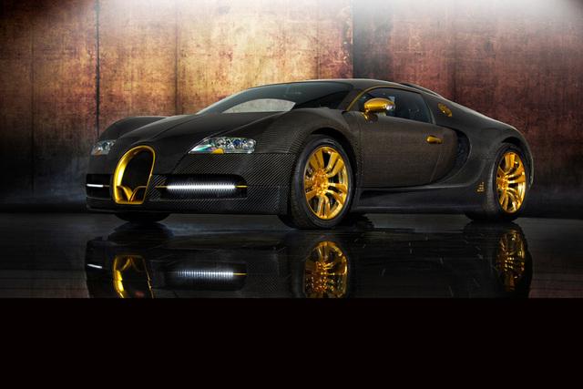 Mansory Bugatti Veyron 16.4: Das Goldstück