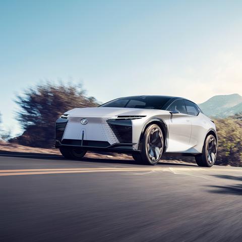 Lexus LF-Z   - Elektrische Zukunft